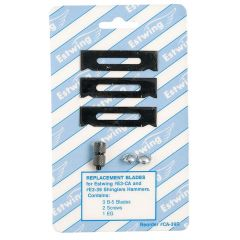 ECA39R Estwing Replacement blades with one EG gauge & screws