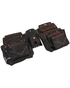 PTI Oil Tan Double Adjustable Belt - PTI0107