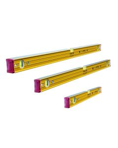 Stabila 96-2 TRIPLE PACK - Spirit Level set 60cm, 120cm & 180cm - STB962SPSET